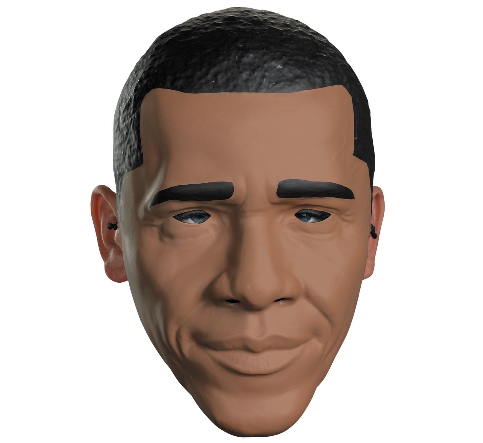 Image of Barack Obama Adult Half Mask