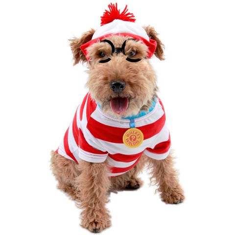 Where's Waldo Woof Pet Costume