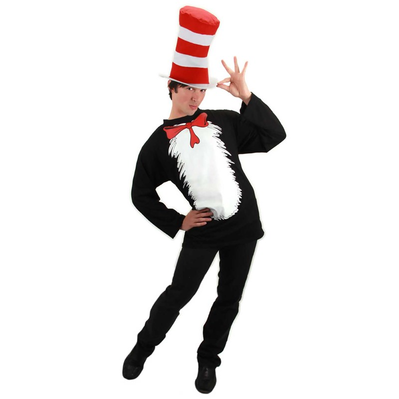 Dr. Seuss Cat In The Hat Adult Costume for the 2015 Costume season.