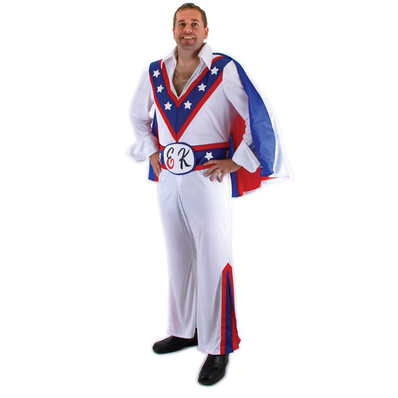 Evel Knievel Adult Costume for the 2015 Costume season.