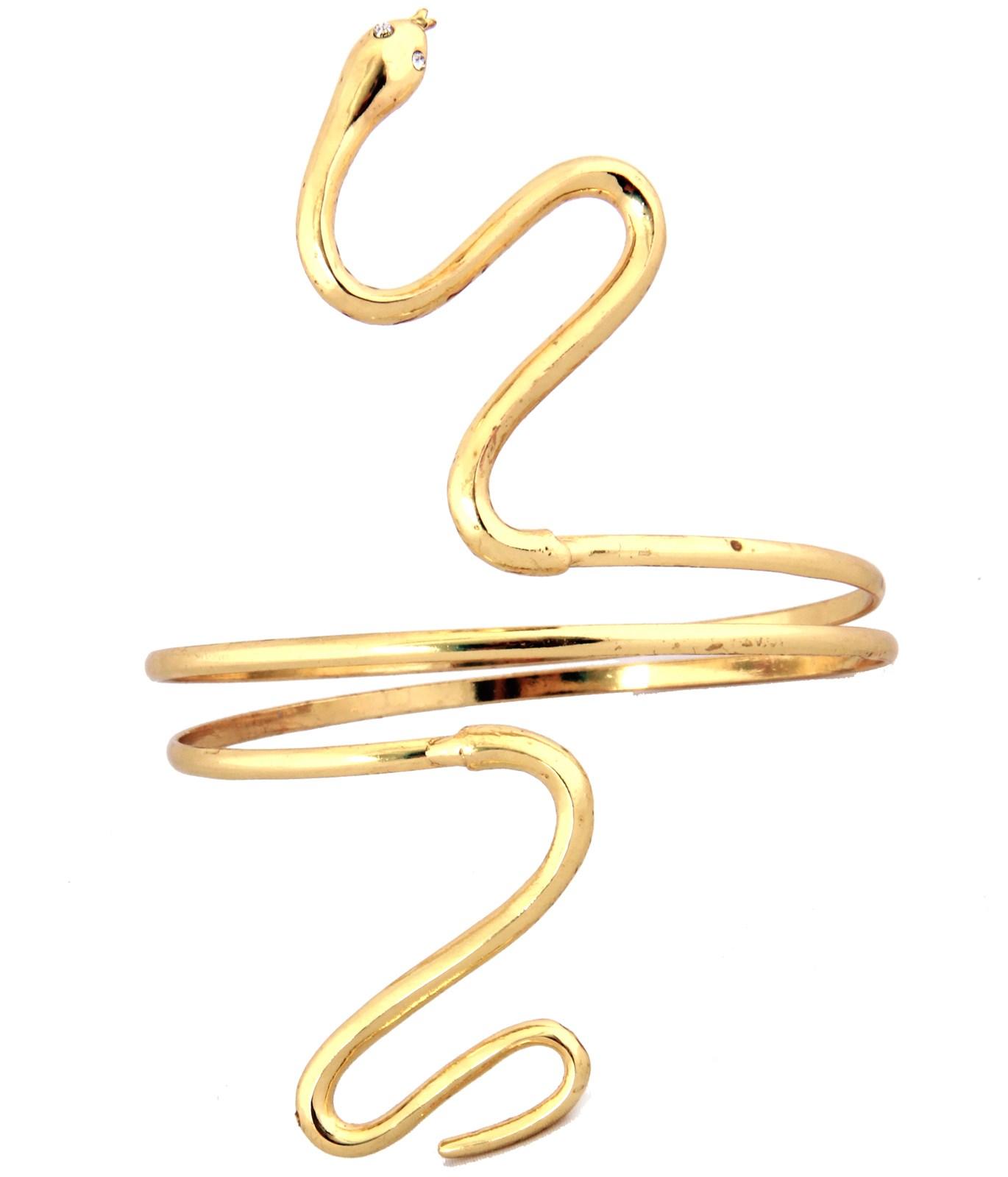 Gold Asp Adult Armband