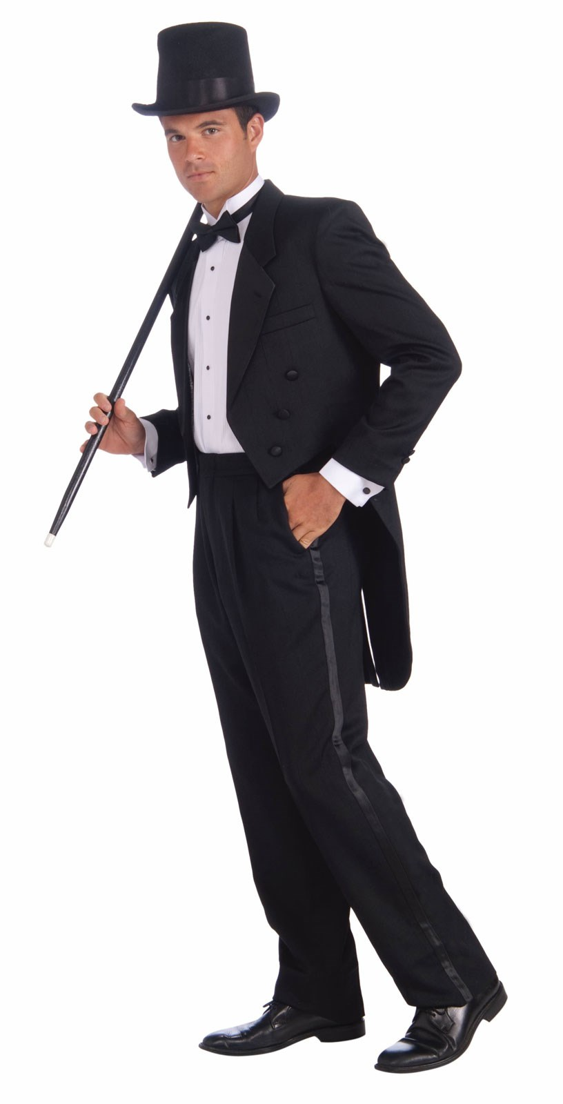 Vintage Hollywood Mans Tuxedo Adult Costume