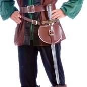 Medieval Adult Belt And Sword Set