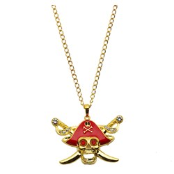 Buccaneer Beauty Glitter Adult Necklace