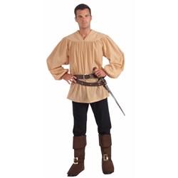 Beige Medieval Adult Shirt