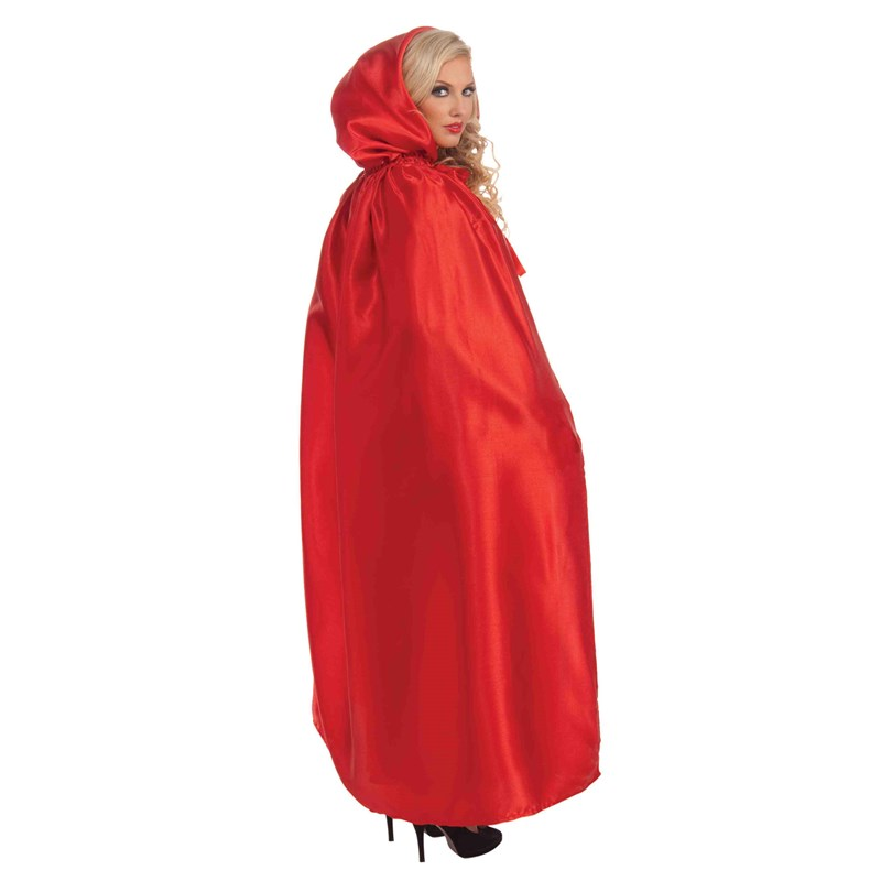 Fancy Masquerade Red Adult Cape for the 2015 Costume season.