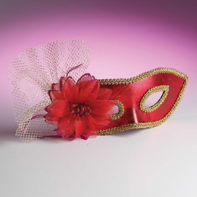 Venetian Mask with Flower for the 2015 Costume season.