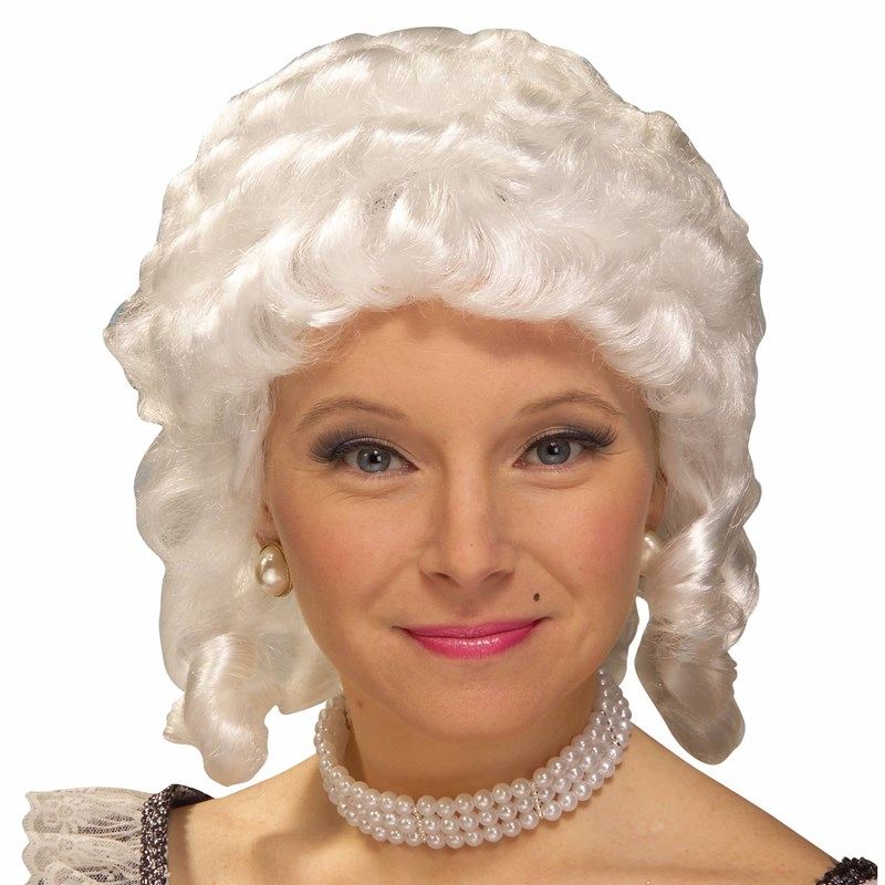 Womens Colonial Adult Wig (White) for the 2015 Costume season.