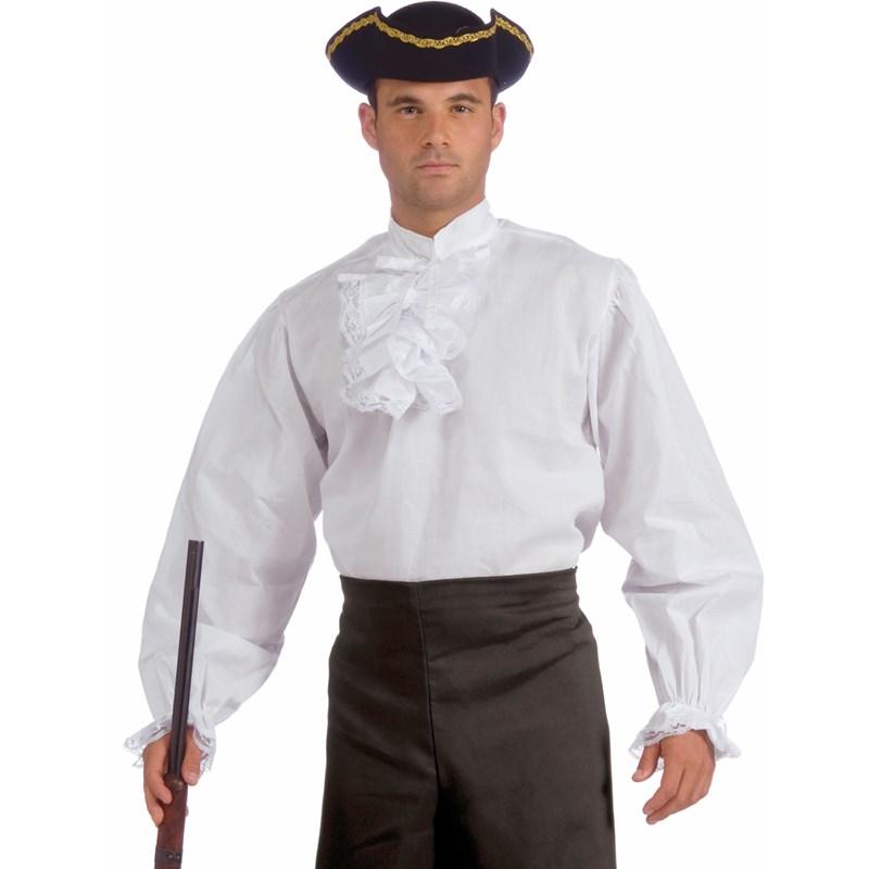 Ruffled White Shirt Adult for the 2015 Costume season.