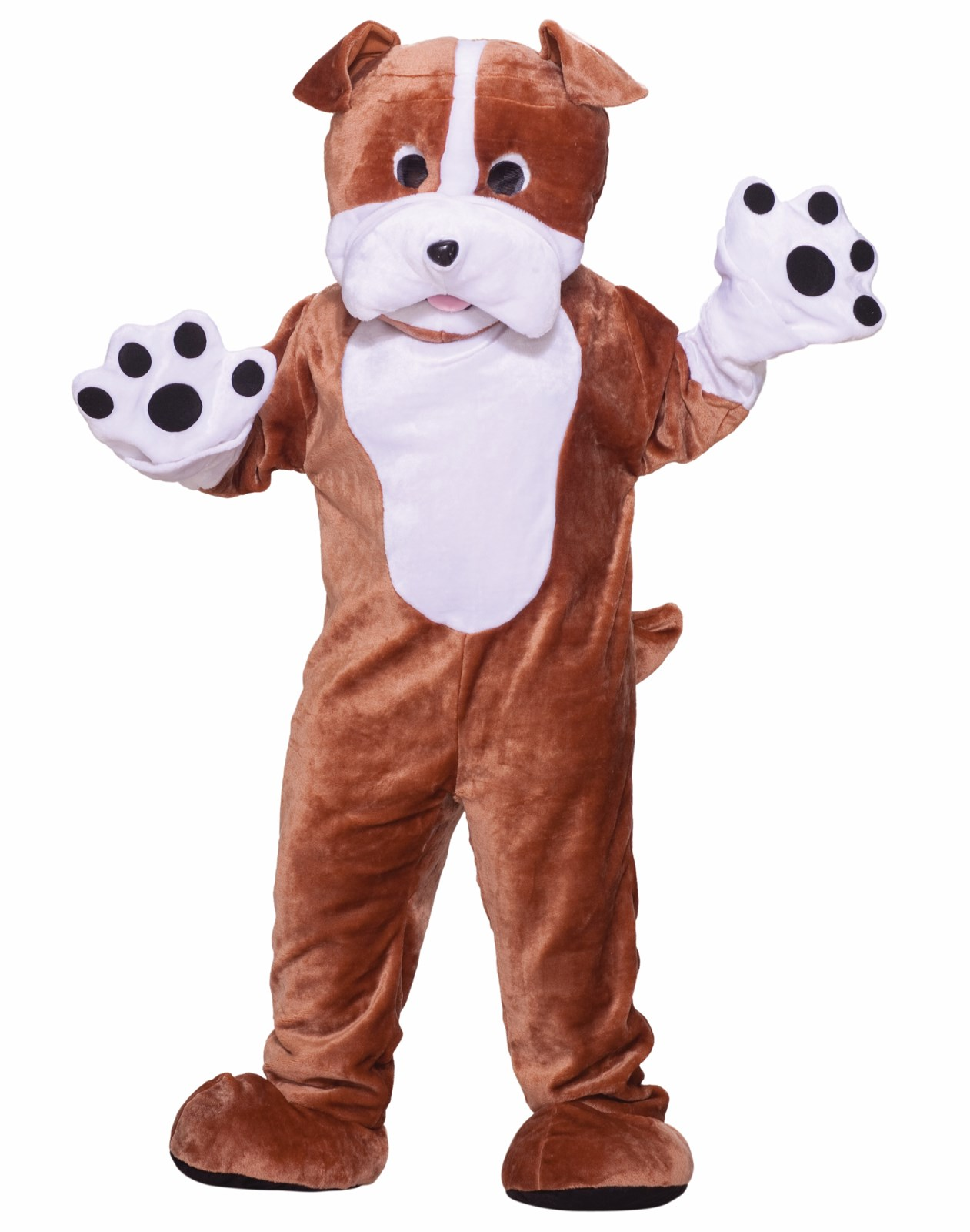 Bull Dog Deluxe Mascot Adult Costume