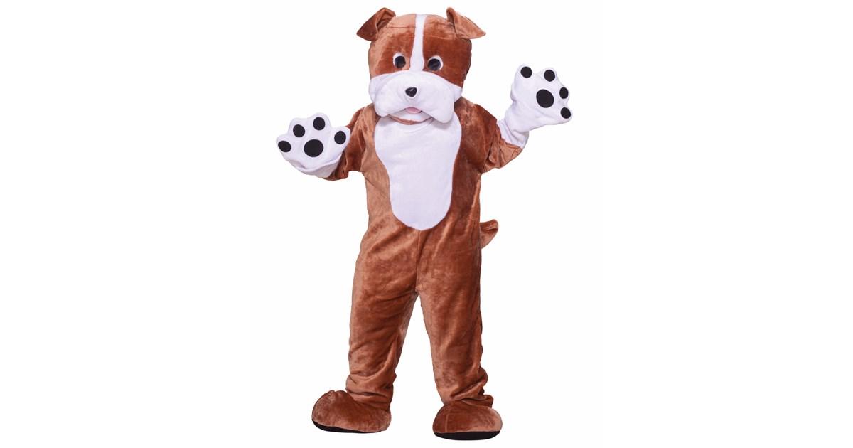 Bull Dog Deluxe Mascot Adult Costume Buycostumes Com