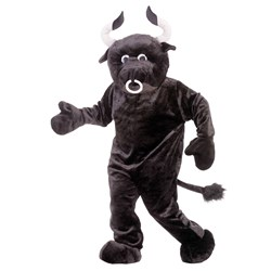 Bull Deluxe Mascot Adult Costume