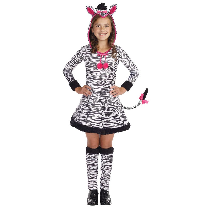 Lil Wild Thang Zebra Child Costume for the 2015 Costume season.