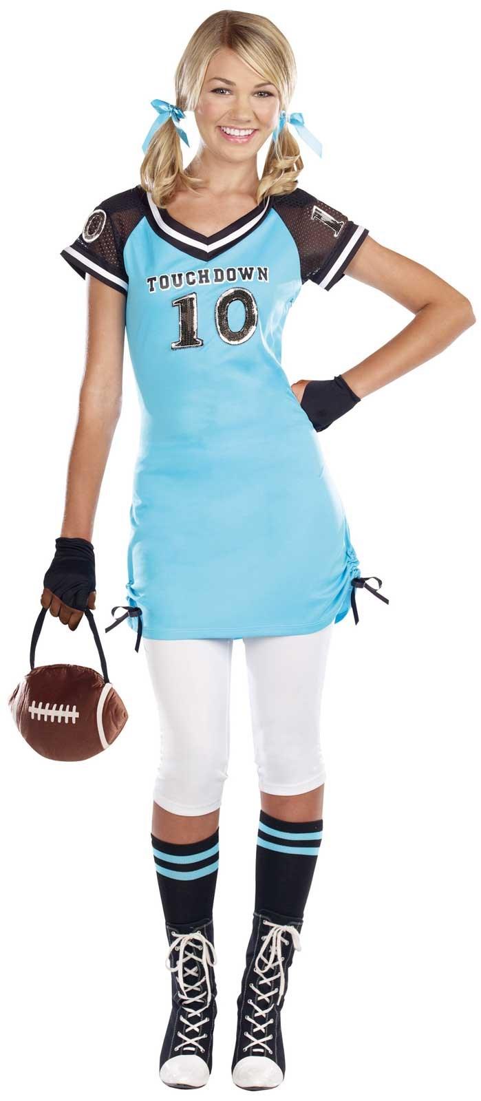 Football Touchdown Cutie Teen Costume