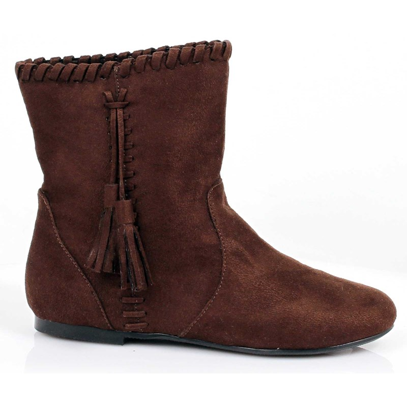 Brown Moccasin Child Boots for the 2015 Costume season.