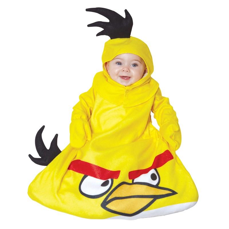 Rovio Angry Birds Yellow Bird Bunting Infant Costume for the 2015 Costume season.