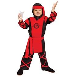 Dragon Ninja Toddler Costume  Black/Red Toddler 2T Paper Magic Adult