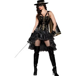 Beautiful Bandida Adult Costume