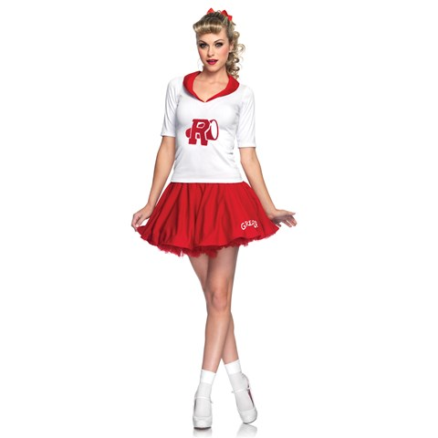 Grease Rydell High Cheerleader Adult Costume