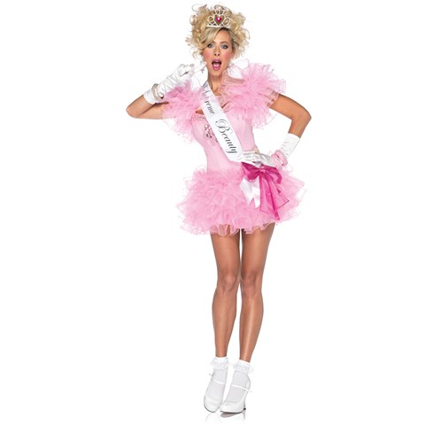 Little Miss Supreme Beauty Adult Costume
