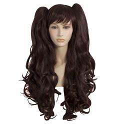 Dark Brown Cosplay Adult Wig