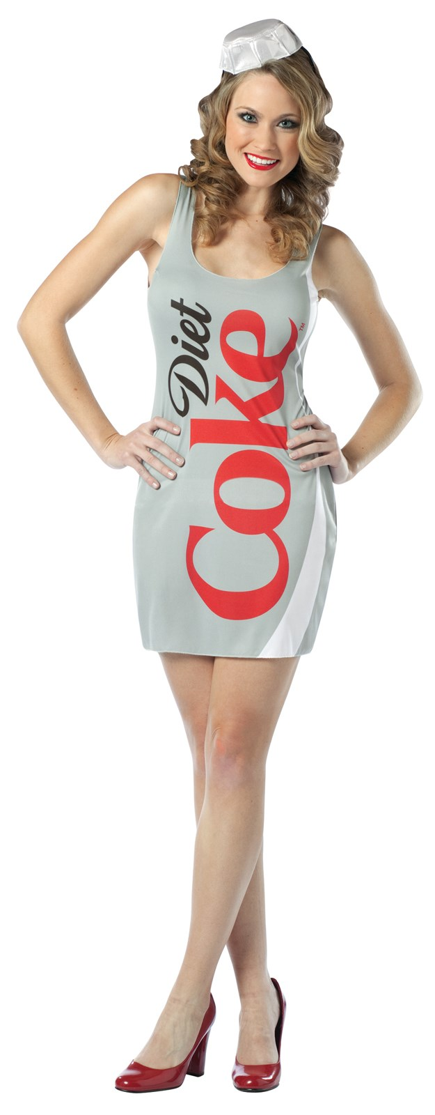 Coca-Cola - Diet Coke Tank Dress Adult Costume