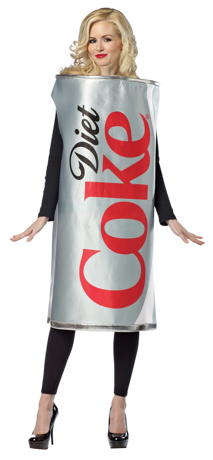 Coca-Cola - Diet Coke Can Adult Costume