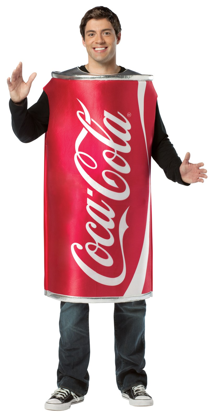 Coca-Cola - Coke Can Adult Costume