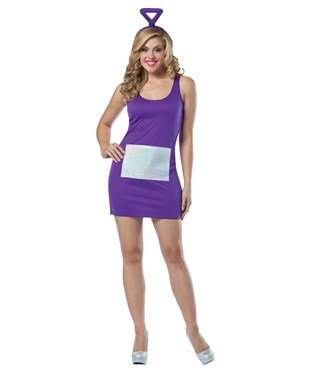 Teletubbies - Tinky Winky Dress Adult Costume
