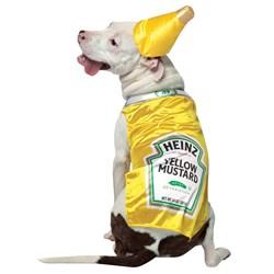Heinz Mustard Pet Costume