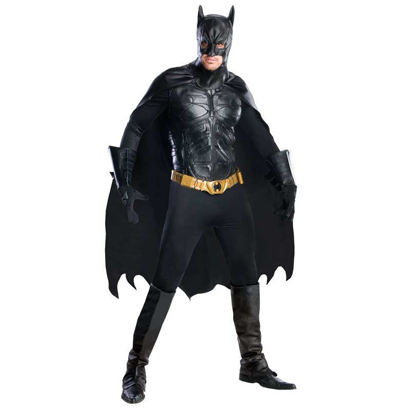 The Dark Knight Rises Batman Grand Heritage Adult Costume for the 2015 Costume season.