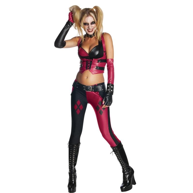 Batman Arkham City Secret Wishes Harley Quinn Adult Costume for the 2015 Costume season.