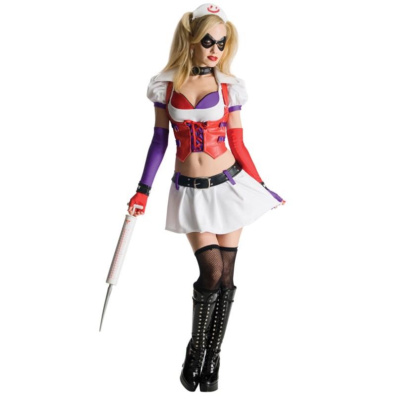 Batman Arkham City Asylum Harley Quinn Adult Costume for the 2015 Costume season.