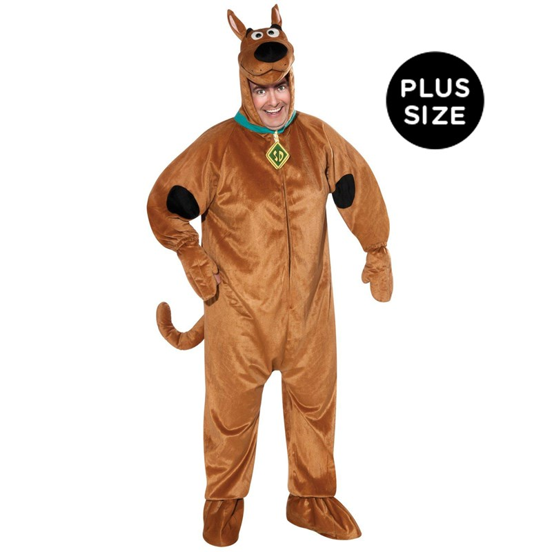 Scooby Doo Adult Plus Costume for the 2015 Costume season.