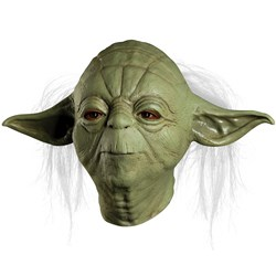 Star Wars Yoda Overhead Latex Mask (Adult)
