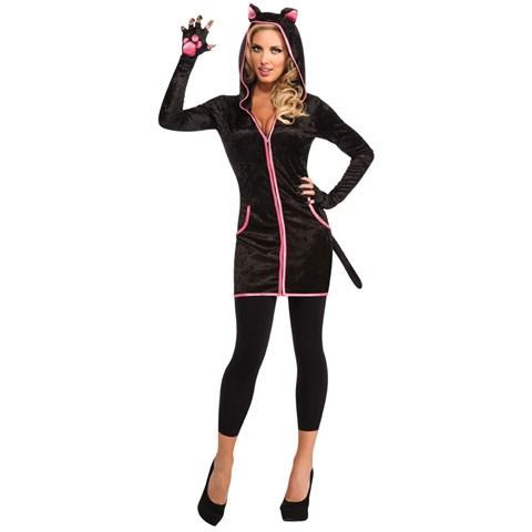 Urban Black Kitty Adult Costume