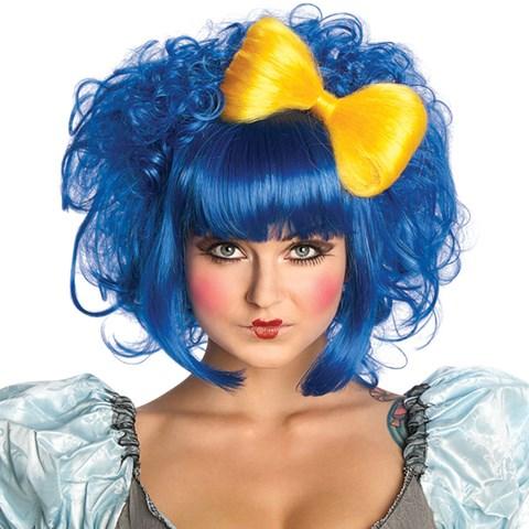 Cutie Doll Blue Adult Wig