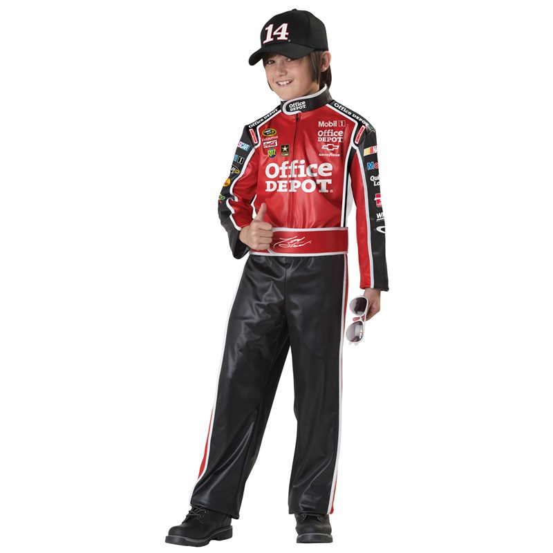 NASCAR Tony Stewart Child Costume for the 2015 Costume season.