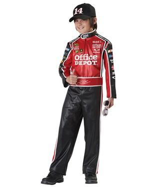 NASCAR Tony Stewart Husky Child Costume