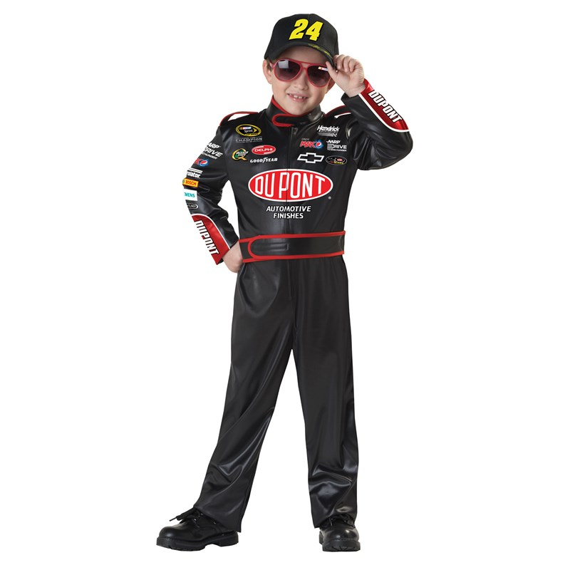 NASCAR Jeff Gordon Child Costume for the 2015 Costume season.
