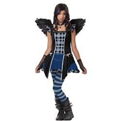 Strangeling Raven Tween Costume
