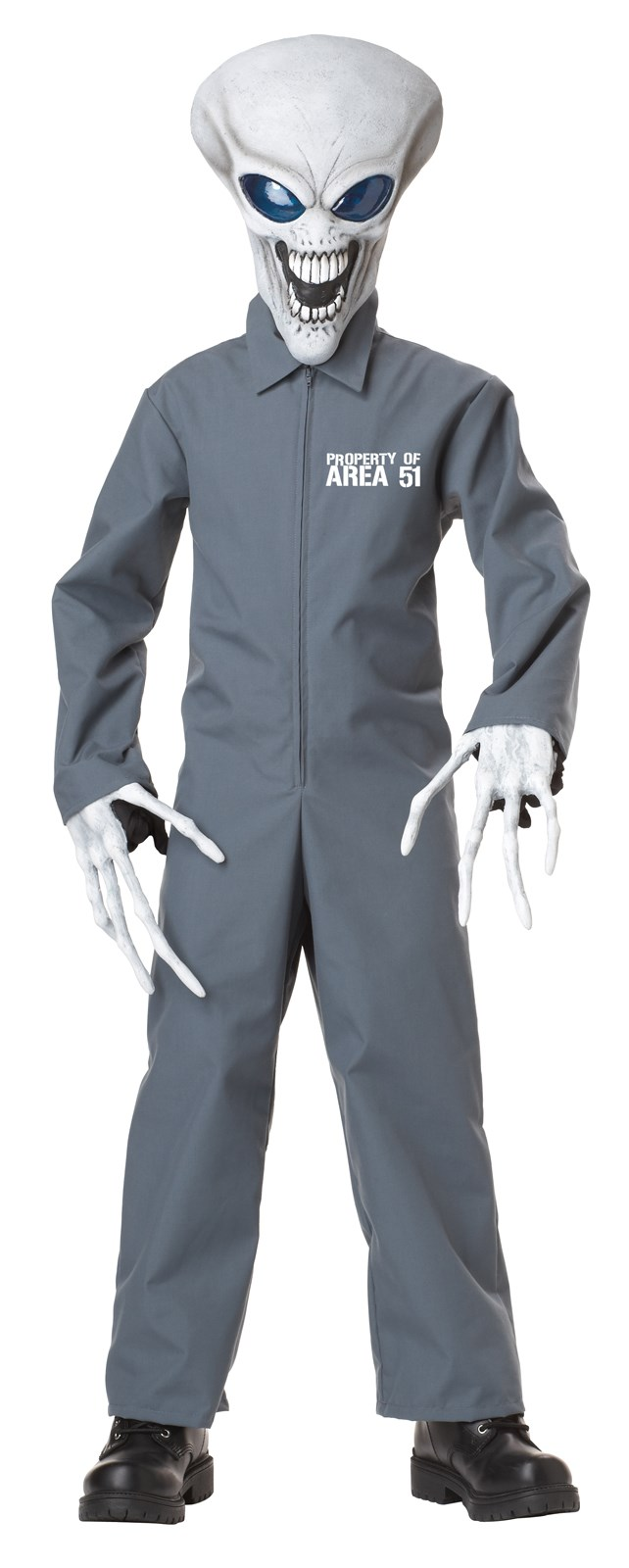 Image of Property of Area 51 Child Costume
