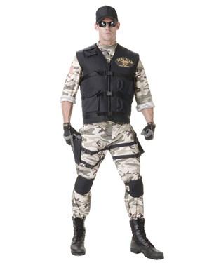 SEAL Team Standard Adult Costume