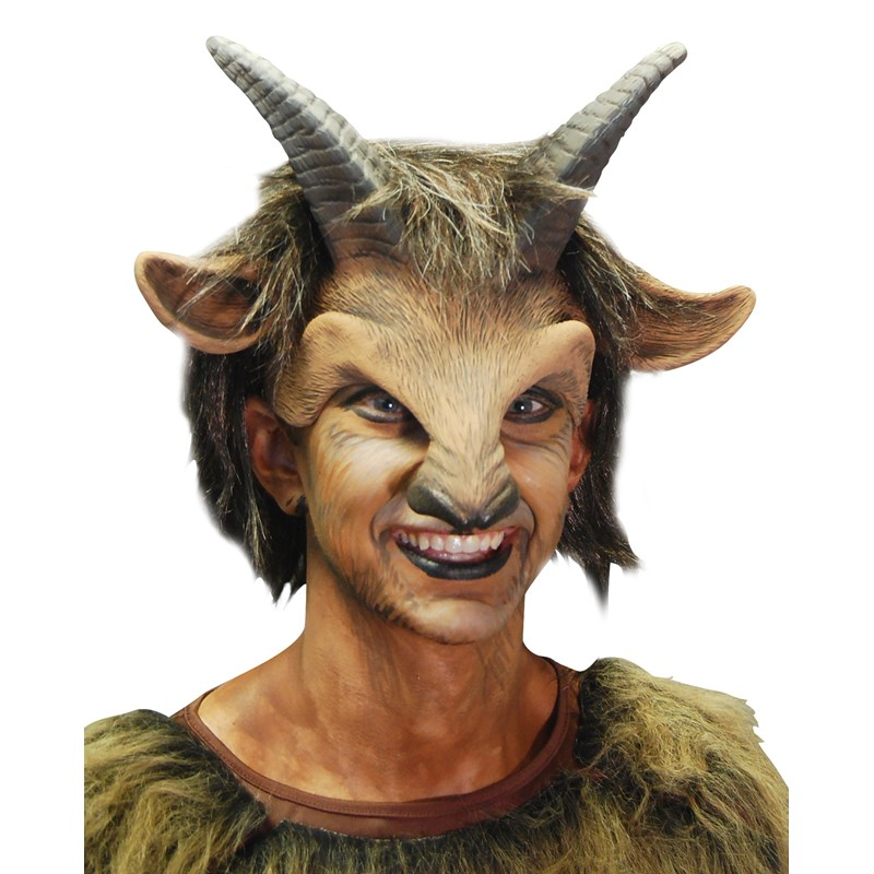 Male Goat Adult Headpiece for the 2015 Costume season.