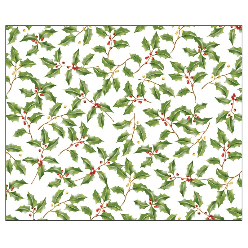 Holly Placemats (12 count) for the 2015 Costume season.