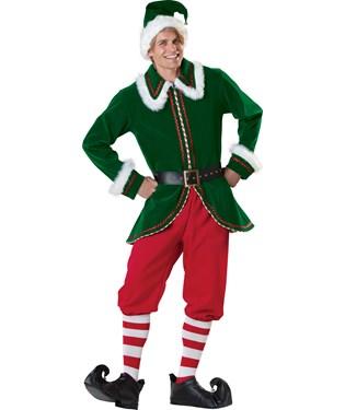 Santas Elf Adult Costume
