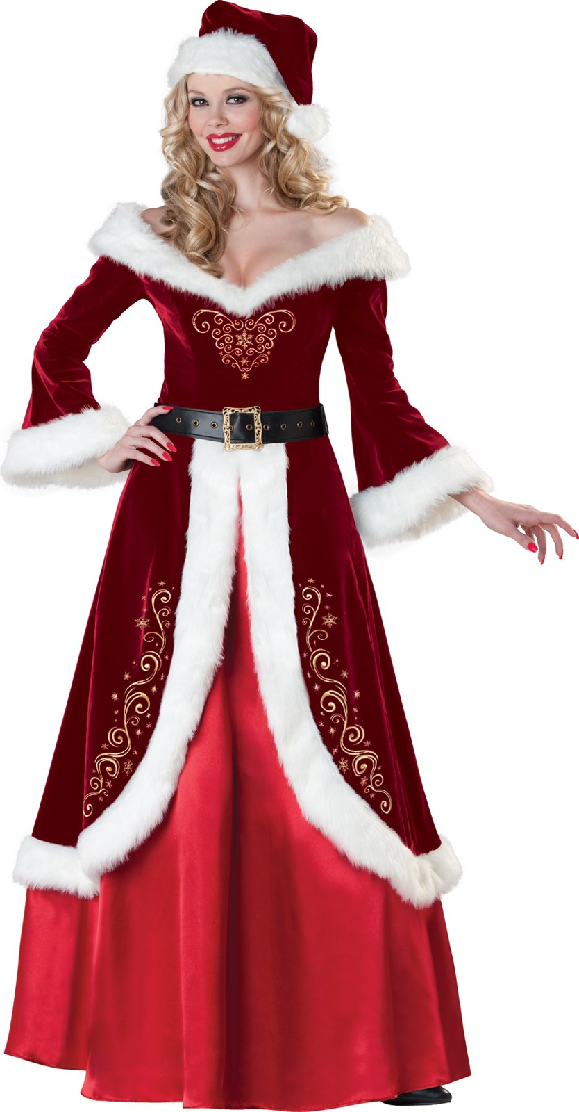 Mrs. St. Nick Adult Costume