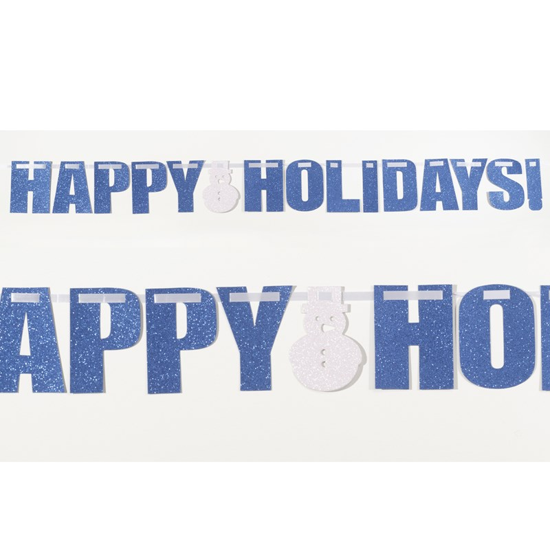 Happy Holidays   Glitter Banner for the 2015 Costume season.
