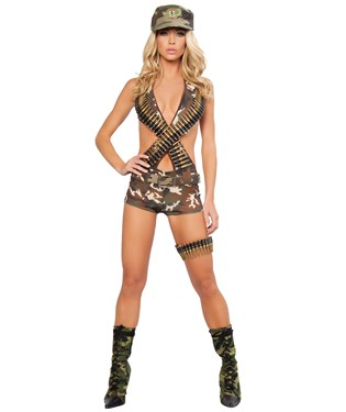 Military Babe Adult Costume