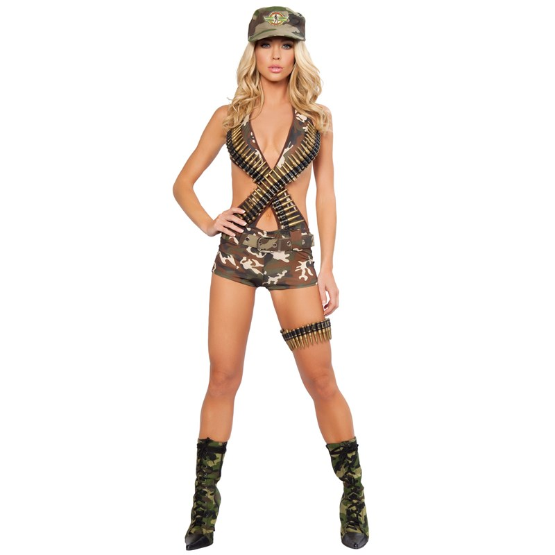 Military Babe Adult Costume for the 2015 Costume season.